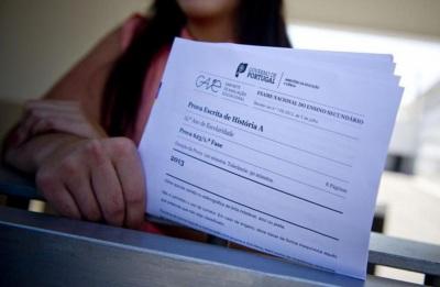 Exames nacionais começaram esta segunda-feira com a prova de Português