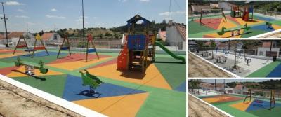 União das Freguesias de Alcácer do Sal e S. Susana concluiu construção do novo Parque Infantil de Arêz