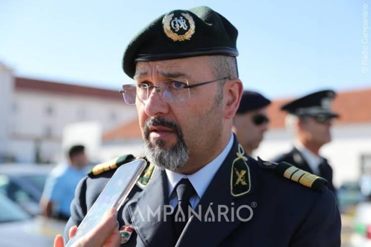 """GNR do distrito de Évora recebe 9 viaturas, que """"não satisfazem as necessidades, mas as mais prementes ficam resolvidas"""", diz 2º Comandante Distrital (c/som)"""