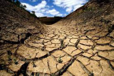 Alvalade do sado em seca severa