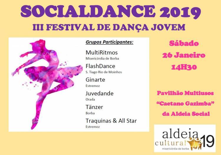 Crianças de Borba e Estremoz sobem ao palco da Aldeia Social de Borba este sábado, no III Festival SOCIALDANCE