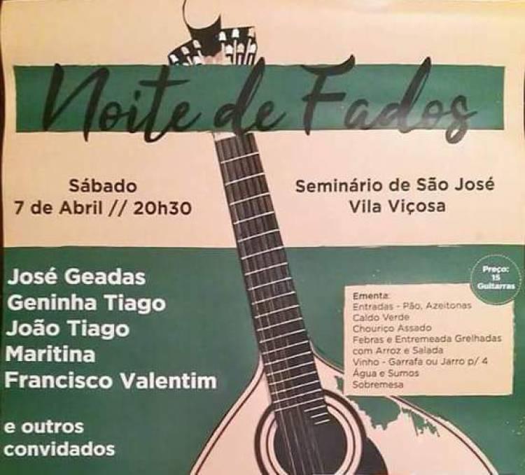 Agrupamento 639 promove noite de fados em Vila Viçosa