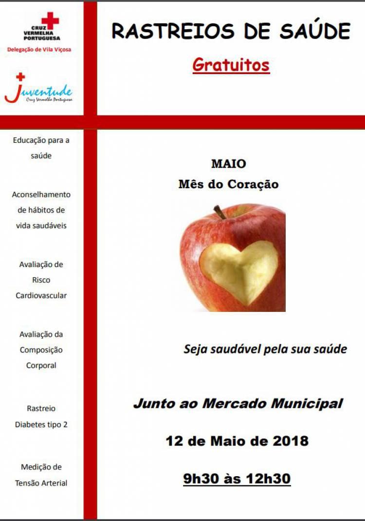 Cruz Vermelha promove rastreios de saúde em Vila Viçosa