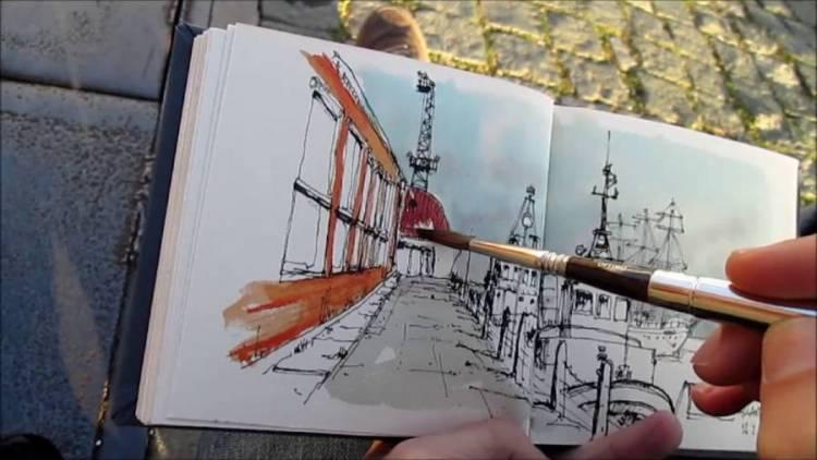 """""""Arte, Património e Lazer"""" de Estremoz inspiram EvoraSketchers"""
