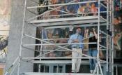 Reitora da UÉ e Ministro da Ciência, Tecnologia e Ensino Superior visitam pinturas murais de Almada Negreiros