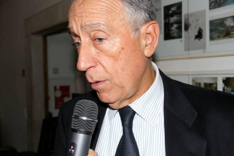 Exclusivo: Marcelo Rebelo de Sousa em Vila Viçosa, neste outono (c/som)
