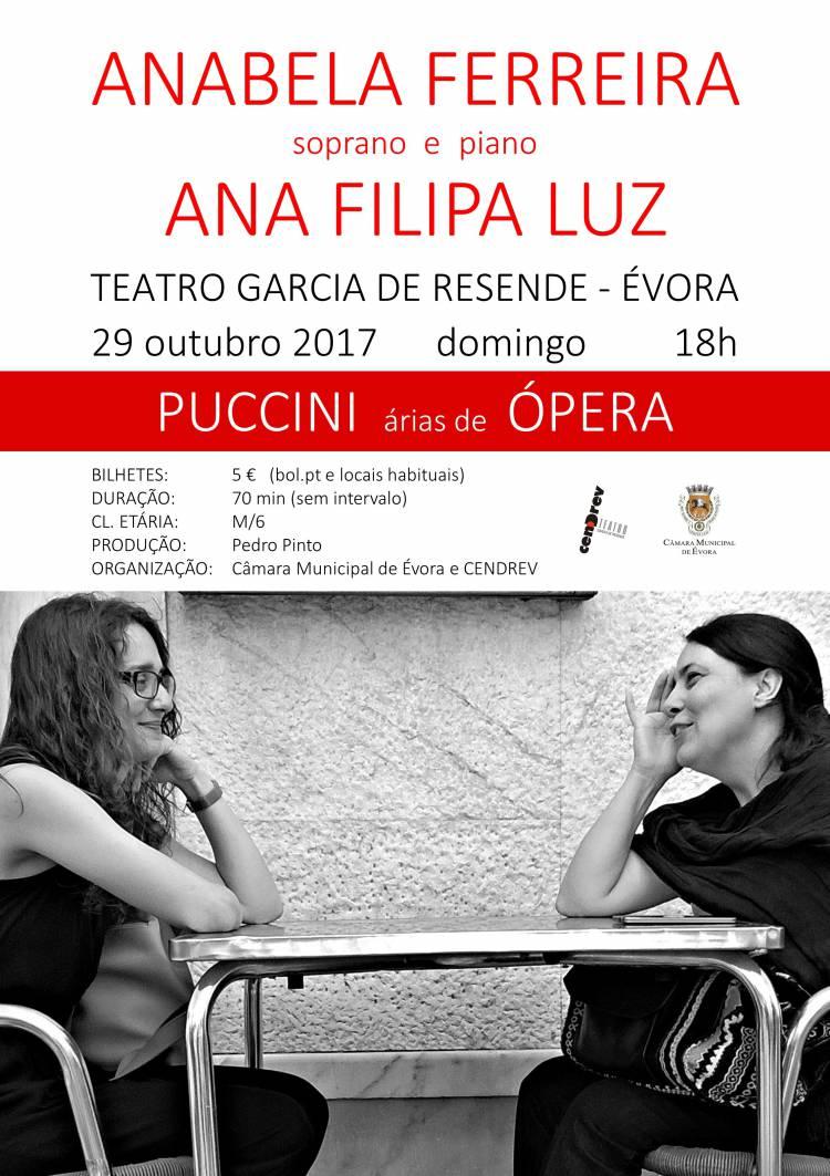 Teatro Garcia de Resende recebe soprano Anabela Ferreira