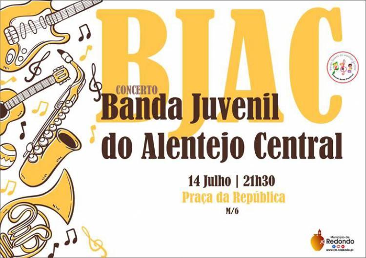 Redondo receberá concerto da Banda Juvenil do Alentejo Central