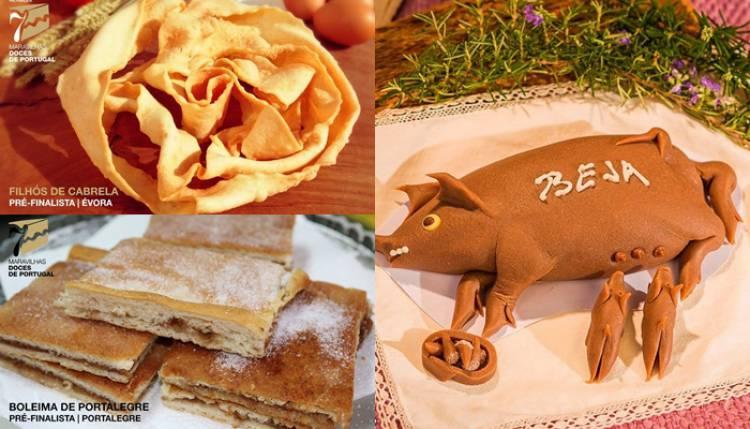 3 doces alentejanos nos pré-finalistas às 7 Maravilhas Doces de Portugal