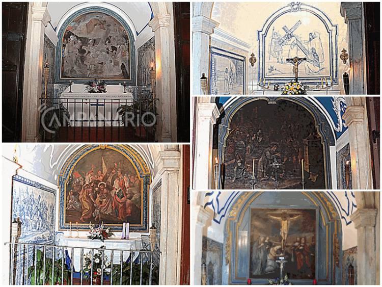 Passos de Cristo/Estações da Via Sacra de Vila Viçosa classificados de Interesse Público