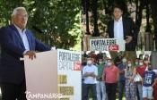 Fotoreportagem da apresentação de Luís Testa candidato do PS à Câmara de Portalegre com a presença de  António Costa