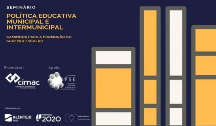 """CIMAC promove """"Política Educativa Municipal e Intermunicipal - Caminhos para a Promoção do Sucesso Escolar"""""""