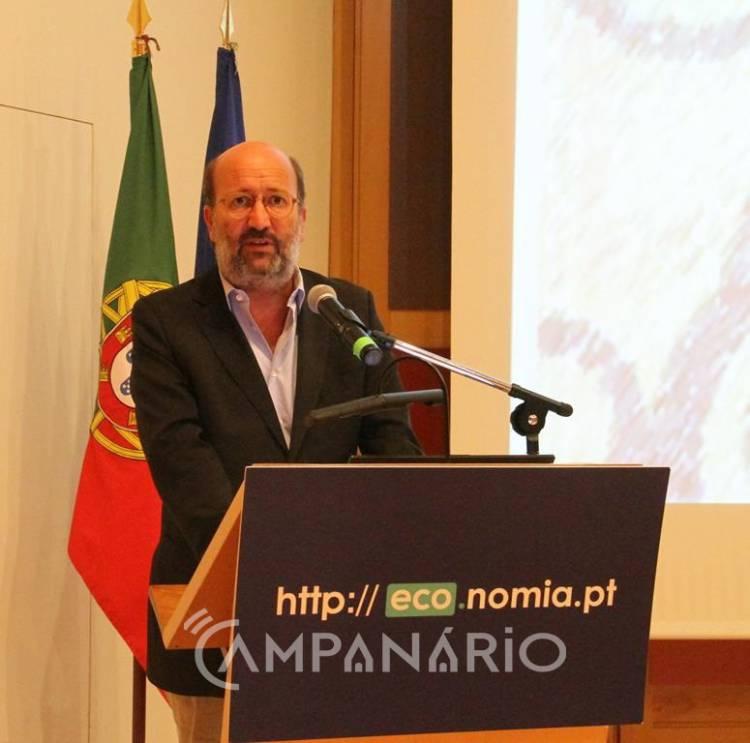 """Modelo continuado de economia linear em Portugal """"tem de acabar"""", afirma Ministro do Ambiente em Évora (c/som e fotos)"""