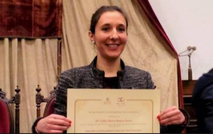 Alandroalense Lídia Serra vence prémio de melhor doutoramento da Universidade de Salamanca
