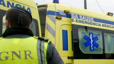 Despiste de veículo ligeiro em Monforte provoca um ferido!