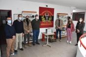 Bombeiros de Portalegre recebem aparelho de desinfecção a ozono da Junta de Freguesia da Urra