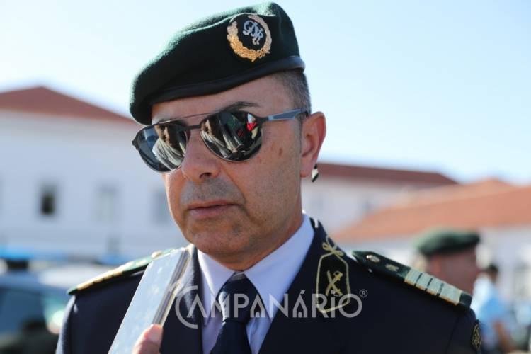 """""""Estamos sempre carenciados"""" de meios, mas """"temos que saber gerir os que nos põem à disposição"""", diz Comandante Distrital da GNR (c/som)"""