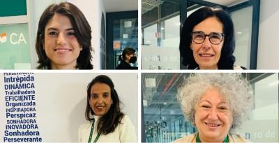 Empresárias Portuguesas e Espanholas encantadas com a INTREPIDA organizada pelo NERE (c/som e fotos)