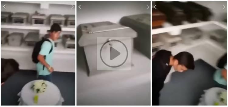 Vendas Novas: Jovens violam jazigos de soldados ex-combatentes no cemitério e gravam vídeo (c/vídeo)