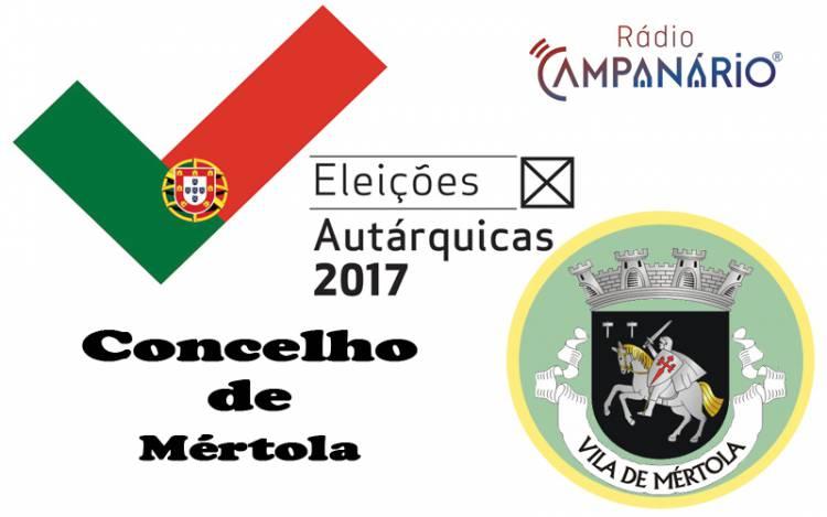 Autárquicas 2017: Os resultados eleitorais do concelho de Mértola (c/dados)