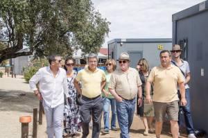 Candidatos do PS à Assembleia da República visitaram praias fluviais de Alqueva (c/fotos)