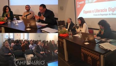 """Seminário """"Ciganos e Literacia Digital: o caso de Reguengos de Monsaraz"""" sensibiliza para que """"digitalização do mundo não seja um fator de exclusão das comunidades"""", diz Carlos Medinas (c/som e fotos)"""