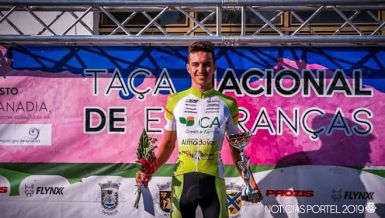 Raul Ribeiro, natural de Monte do Trigo venceu a Taça Nacional de Esperanças - Opraticante.
