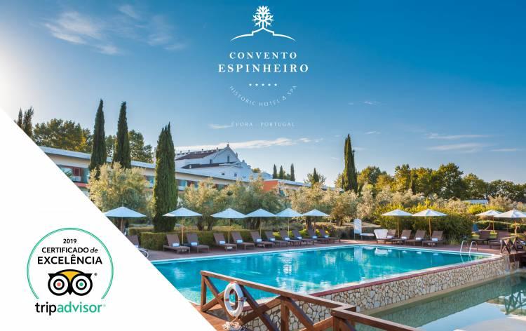 Hotel de Évora conquista TripAdvisor Hall Of Fame em 2019