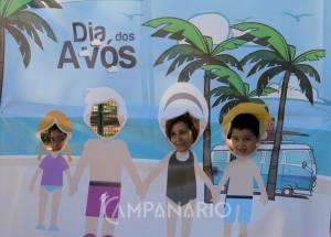 """Borba assinalou Dia dos Avós, promovendo convívio de netos e avós, """"pais duas vezes"""" (c/som e fotos)"""