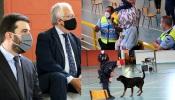 """Ministros da Admin. Interna e Educação disseram, em Elvas, que neste ano letivo as forças de segurança são fundamentais, mas """"não é possível as praxes coletivas"""" (c/som e fotos)"""
