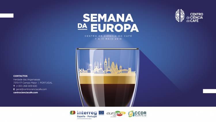 Campo Maior: Centro de Ciência do Café recebe a Semana da Europa em 2018