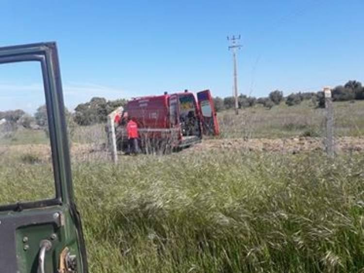 Ambulância dos Bombeiros de Mourão despistou-se a caminho do hospital