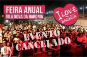 COVID-19: Feira de Vila Nova da Baronia foi cancelada
