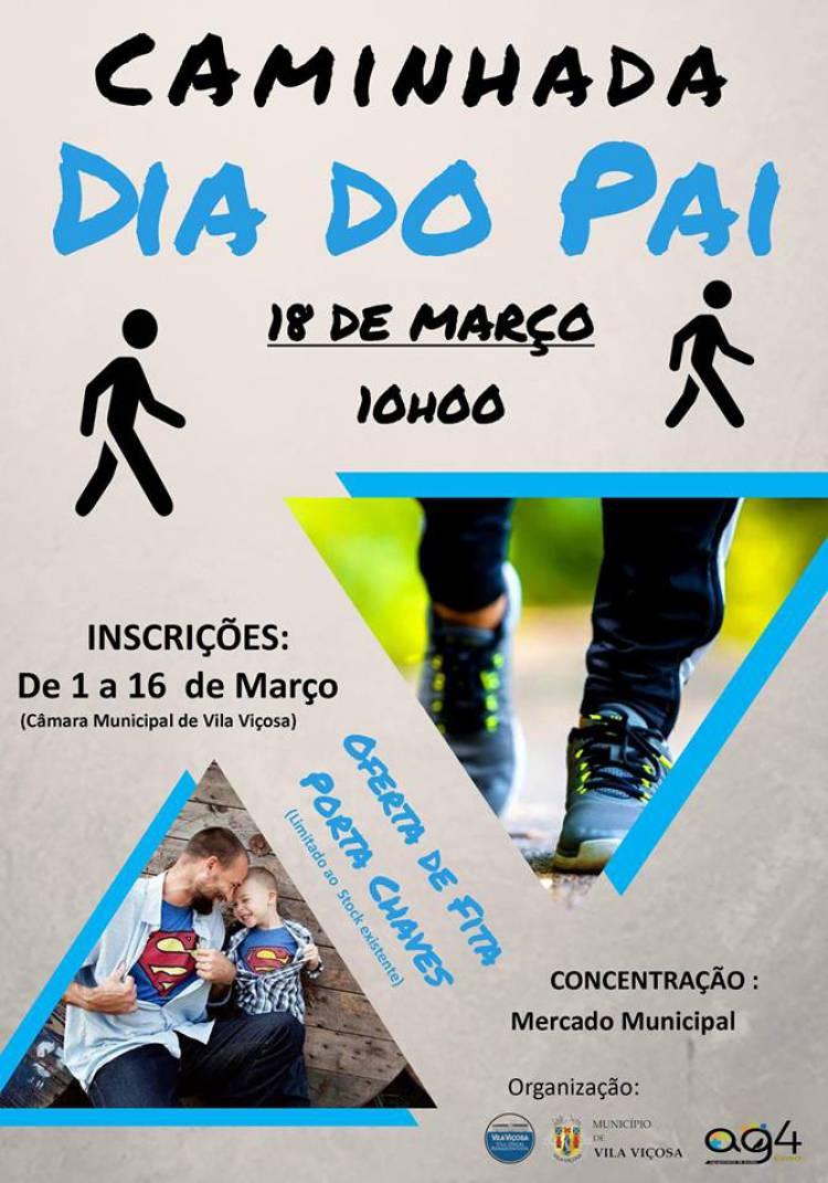 Vila Viçosa terá caminhada no Dia do Pai