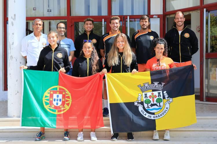 Atletas de Grândola a Caminho do Campeonato Europeu de Salvamento Aquático