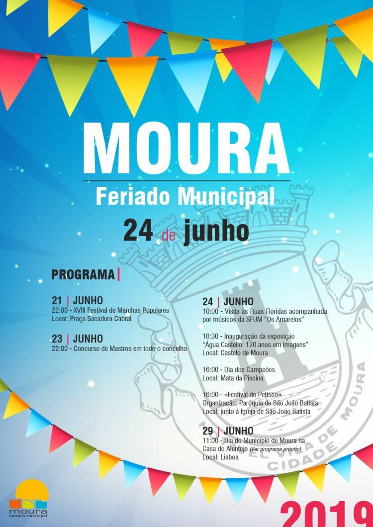 Concelho de Moura celebra Feriado Municipal
