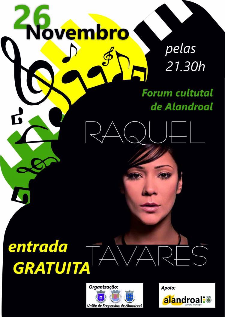 Raquel Tavares atuará domingo em Alandroal