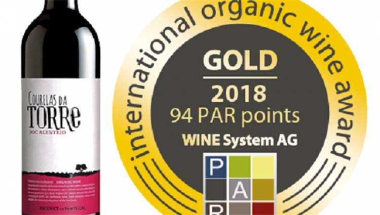 Vinho Courelas da Torre – 2017 de Redondo premiado com medalha de ouro na Alemanha