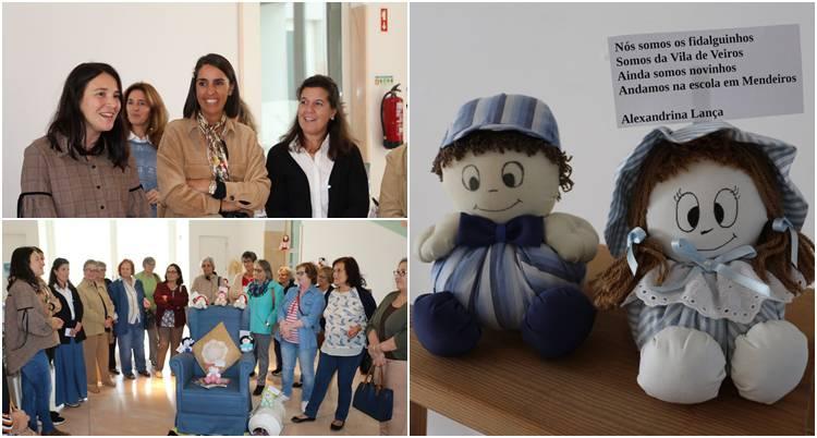 Academia Sénior de Estremoz inaugurou exposição de Bonequeiras Poetisas (c/fotos)