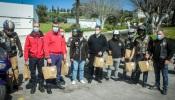 """Grupo Motard """"Novo Milénio"""" oferece cerca de 190 refeições aos profissionais da linha da frente"""