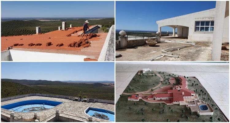 Obras já arrancaram na antiga Pousada de Sousel e promotores estão a aceitar currículos em 8 áreas (c/fotos)