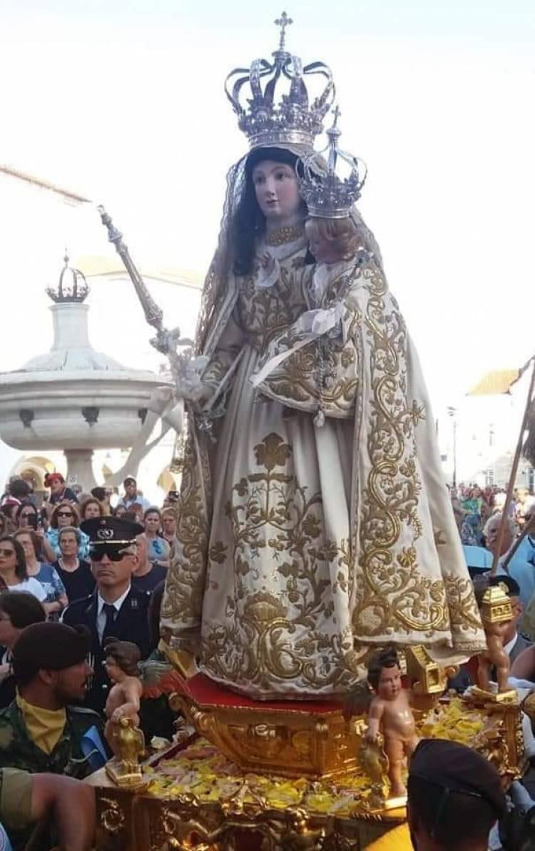 A 7 de julho Nossa Senhora da Saúde percorrerá as principais artérias da cidade de Évora em procissão Solene.