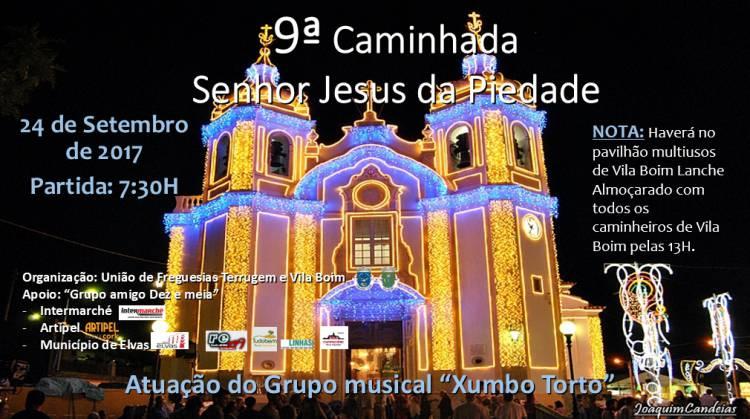 9ª Caminhada ao Senhor Jesus da Piedade em Vila Boim