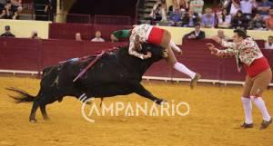 Forcados de Monsaraz sem sorte esta quinta-feira no Campo Pequeno. Veja as imagens da corrida (c/fotos)