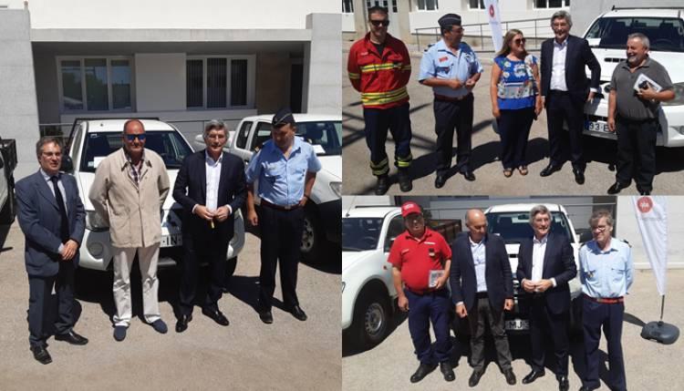 EDP doa 3 viaturas aos bombeiros de Vila Viçosa, Alvito e Mourão