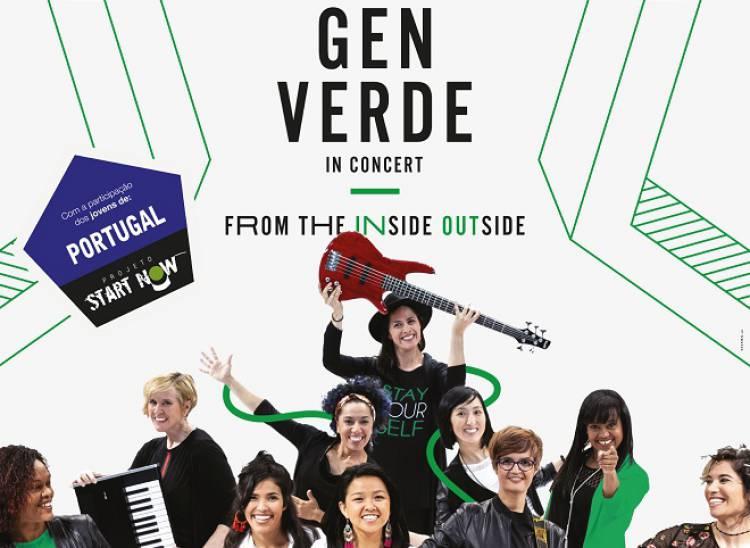 Grupo internacional feminino 'Gen Verde' em Évora a 25 de maio