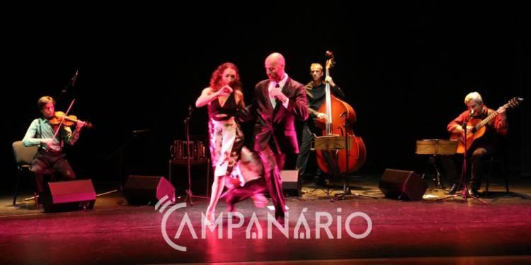 """Espetáculo """"VOLVER"""" trouxe tango ao Centro Cultural de Redondo (c/som e fotos)"""