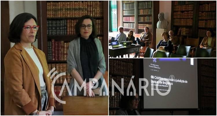 Casa de Bragança e os Cristãos-novos foi tema de conferência no Paço Ducal. A RC deixa-lhe a fotorreportagem (c/som)