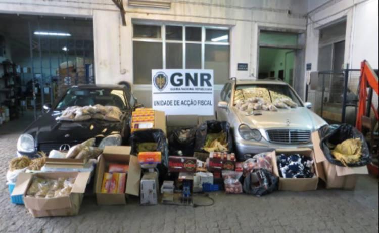 GNR desmantela fábricas ilegais de tabaco em Évora e termina com fraude de quase 1 milhão de euros