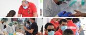 Baixo Alentejo: 400 bombeiros realizaram teste à COVID-19. Mais 150 operacionais serão testados domingo